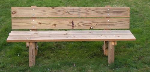 HandymanUSA Building a Garden Bench